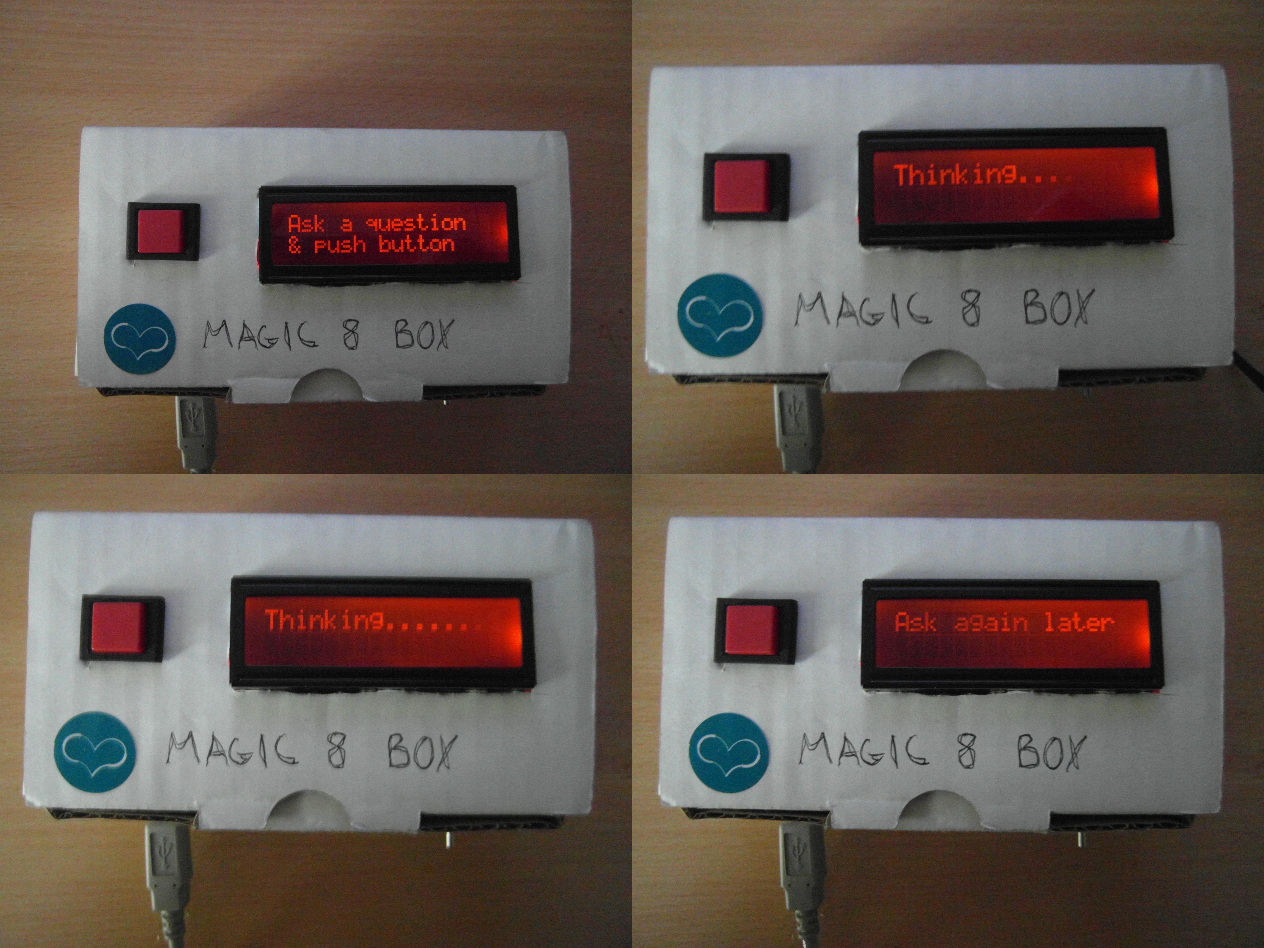 Magic 8 Box
